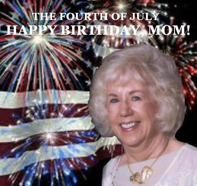 Kay July 4th with text