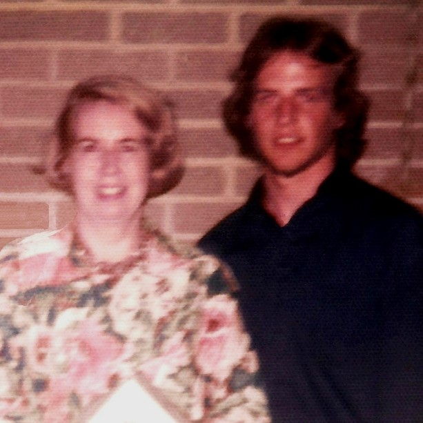 RICK MINSHALL with MOM - June 1974