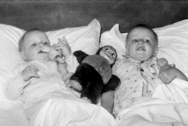 MIKE & RICK MINSHALL - December 1956